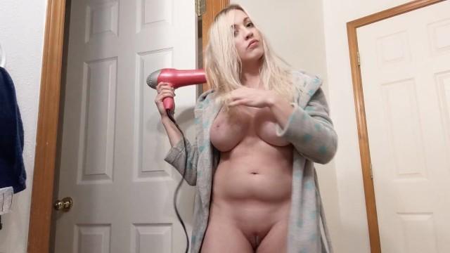 Amateur;Babe;Big Tits;Blonde;Fetish;Reality;POV;Verified Amateurs;Solo Female kink, big-boobs, point-of-view, hair-drying, hair-dryer, hair-fetish, hair-brushing, mom, mommy, blonde, hair-brush, big-tits, milf, watching, voyeur