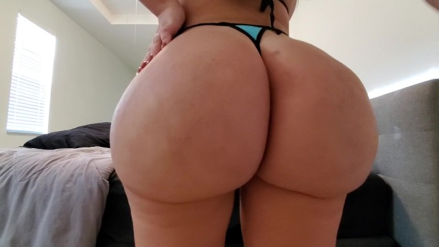 Jerk off to a fat ass - You failed no nut november now jerk off to my juicy fat ass joi