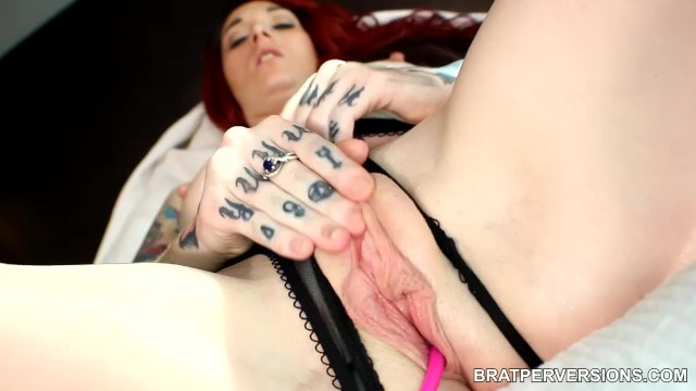 Cunt large lip Tattooed redhead beautiful large labia