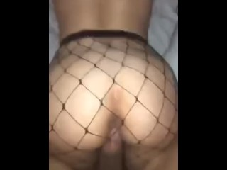 Teen covered in cum and...