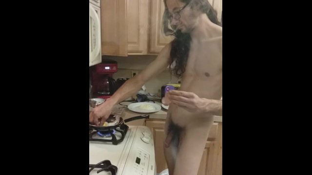 Fetish;Exclusive;Verified Amateurs chores, chore-porn, eggs, breakfast, naked-cooking