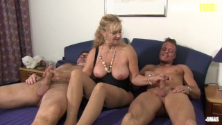 AmateurEuro - Mature Step MOM Fucked Hard By Her Step Grandsons
