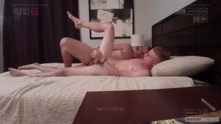 Straight Blonde Teen Cums Hard While Getting Bred By Thick Daddy Cock