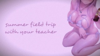 Field Trip With Your Teacher (Teacher Series) | SOUND PORN | English ASMR