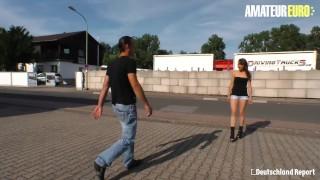 アマチュアユーロ-ドイツ成熟したslutジュリア暗い硬い滑り弄による見知らぬ人