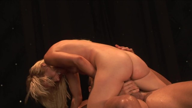 Petite Blonde Teen Rides a Hard Monster Cock and Get Cum Mouthful 15