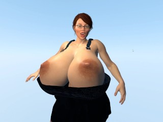 Breast Expansion Test with/without clothes