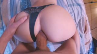 enjoys anal sex, creampie