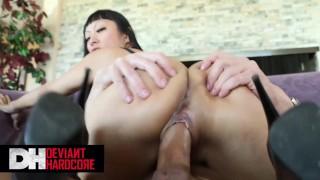 Deviant Hardcore – Big tit Asian Gaia likes rough pounding