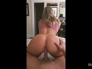 Couple has morning sex before being late to work – Amateur Blondeadobo