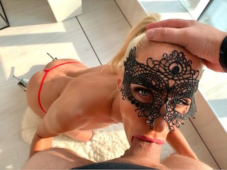 She is my deepthroat queen, so I use her head before anal. PART1