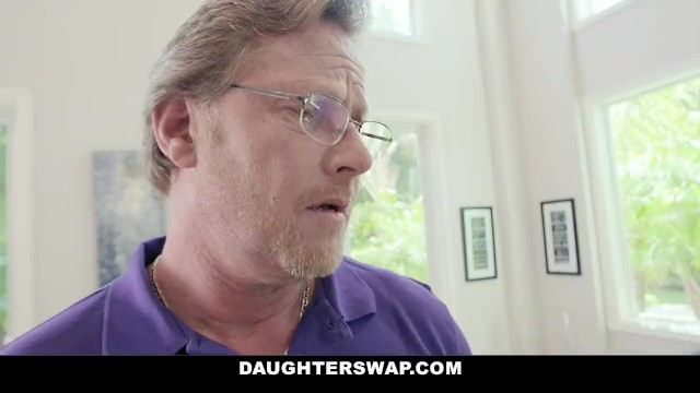 DaughterSwap - Kinky Bisexual Teens Have An Orgy With Mature Dads 2