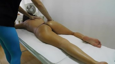 Hot Brazilian Milf get a Sensual Massage watch the full video as Premium