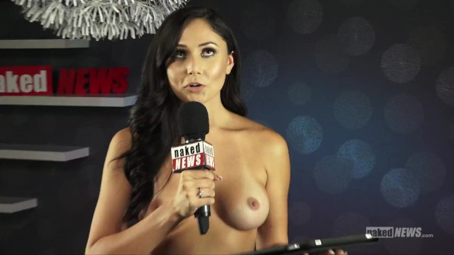 The naked news male edition Naked news at denver exxxotica