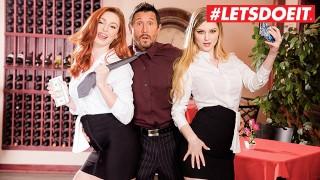 LETSDOEIT - Oeps baas Je zit in grote problemen (LACY LENNON & BUNNY COLBY)