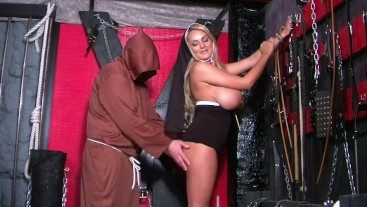 Naughty Nun Katie & Mad Monk - View 1