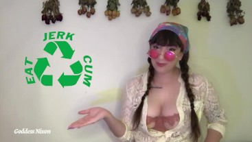 Recycle Your Cum CEI