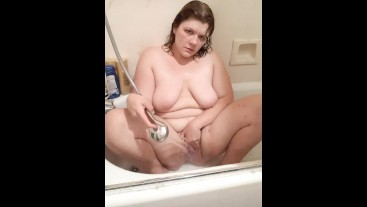 THICC CUTIE FEELS DIRTY GETTING CLEAN FOR 1K SUB SPECIAL