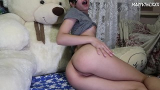 Slut has virtual sex with lover while her boyfriend is away - MaryVincXXX