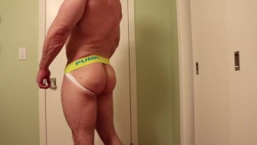 Fitness model try on haul - thong and underwear