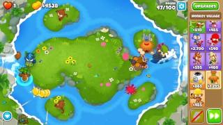 ASMR: I Pop 2 Million Balloons In 21 Minutes (BTD6 Spring Spring CHIMPS)