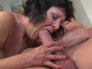 """Grandma said """"i'm tired i'll shake your cock and let the cream drop"""