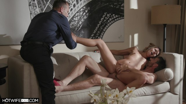 Cuckold Husband Watches Stranger Fuck His Wife 19