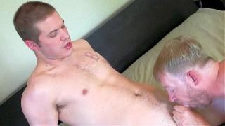 Super Chill Str8 Dude's Cum Load Swallowed – Eating Semen & Sperm