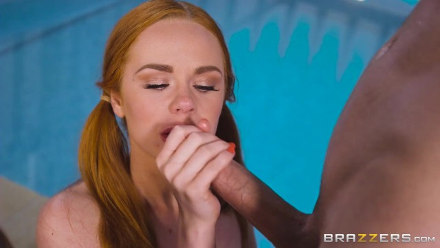 Brazzers-Ella catches Jordi licking Jasmines pussy but her pool, her rules 19