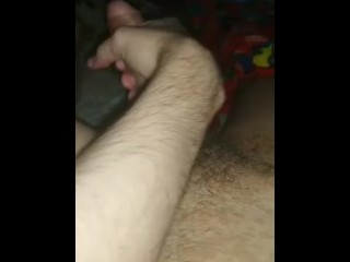 Masturbating my boyfriend