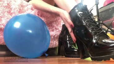 Shiny Shoe Balloon Popping Teaser