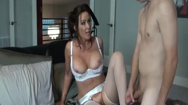 Woman lingerie powered by phpbb Rachel steele milf1132 - hottest mom in white lingerie taking stepson