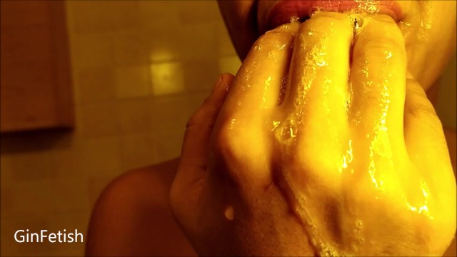 Rivers of spit, dense and tasty saliva 10