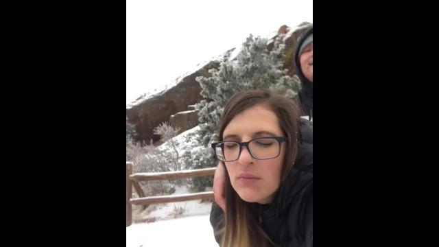 Mountain climbing boobs freeones shoot - Red rocks denver colorado homemade amateur fucking on mountain