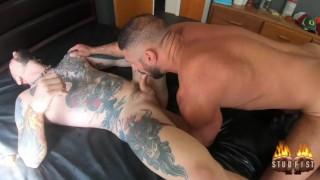 Studfist Extra Kinky Big dicked hunk Marco Napoli Fist Fucks Teddy Bryce