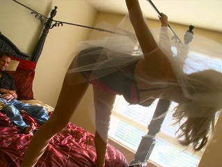 Hot bride Nicole Ray takes the big dick from the new Hubby hard and rough