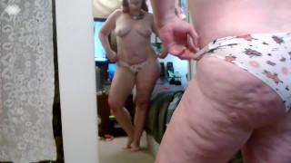 V 337 Martins special Panty modeling plus lots of teasing