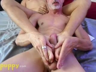 Twink footjob for daddy slave devin jones richard...