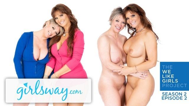 Like to lick ass Girlsway real life lesbian milf couple dee syren- we like girls