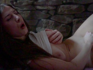 DOUBLE ORGASM YOUNG PINK PUSSY – LICK MY SLIME