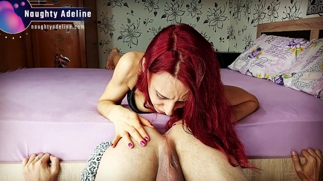 Eating your ass - Sloppy POV rimjob with spitplay cumplay on his asshole 17