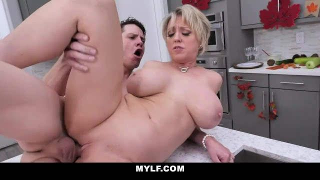 Mature angie williams Mylf - blonde mature milf gets her big tits fucked