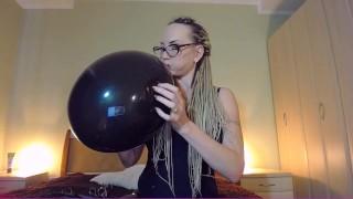 Back ballon blow to pop