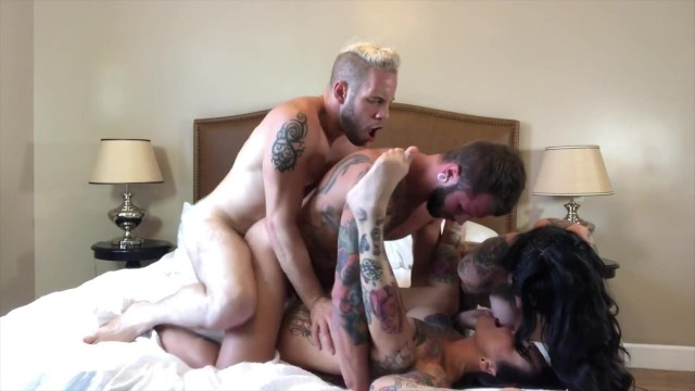 Alexondra lee tits Bisexual foursome with hot tattooed girl, jessie lee johnny hill