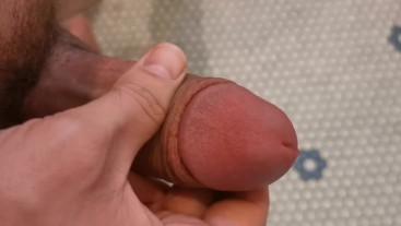 Masturbating and Cumshot Close Up