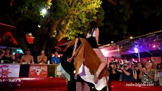 Naked Bull Riding Fantasy Fest 2019 (rnd2)