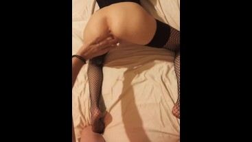*Cream Pie* Neighbor gets fucked in her ass. First time!