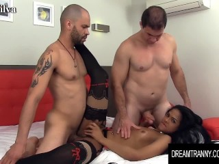 Dream Tranny – Small Tits Tgirls Getting Pummeled Compilation Part 2