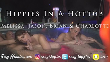 HotTub Hippies Double Couple Show
