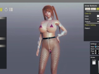 AI Syoujyo [Hentai game] Ep.1 Création des personnages (monstruosités^^)